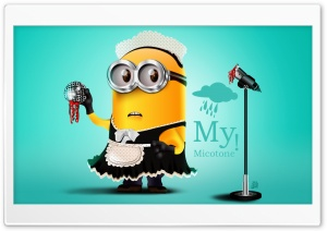 Mi Micotone Minion HD Wide Wallpaper for Widescreen