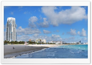 Miami Beach Buildings HD Wide Wallpaper for 4K UHD Widescreen desktop & smartphone