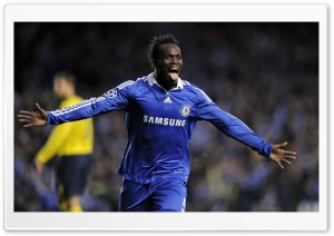 Michael Essien HD Wide Wallpaper for Widescreen