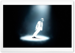 Michael Jackson On Stage HD Wide Wallpaper for Widescreen