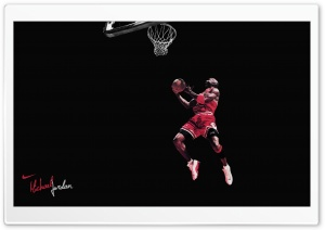 Michael Jordan Clean HD Wide Wallpaper for Widescreen