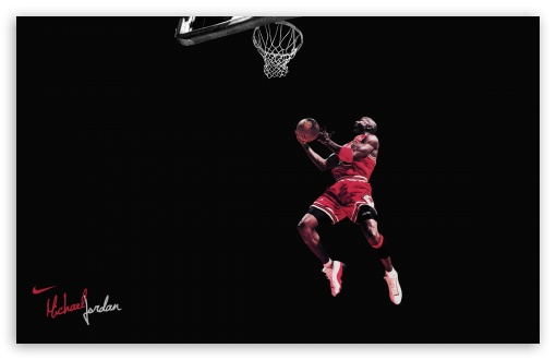 Download Michael Jordan Clean HD Wallpaper