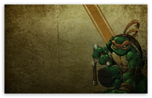 Michelangelo   Teenage Mutant Ninja Turtles HD wallpaper for Standard 4:3 5:4 Fullscreen UXGA XGA SVGA QSXGA SXGA ; Wide 16:10 5:3 Widescreen WHXGA WQXGA WUXGA WXGA WGA ; HD 16:9 High Definition WQHD QWXGA 1080p 900p 720p QHD nHD ; Other 3:2 DVGA HVGA HQVGA devices ( Apple PowerBook G4 iPhone 4 3G 3GS iPod Touch ) ; Mobile VGA WVGA iPhone iPad PSP Phone - VGA QVGA Smartphone ( PocketPC GPS iPod Zune BlackBerry HTC Samsung LG Nokia Eten Asus ) WVGA WQVGA Smartphone ( HTC Samsung Sony Ericsson LG Vertu MIO ) HVGA Smartphone ( Apple iPhone iPod BlackBerry HTC Samsung Nokia ) Sony PSP Zune HD Zen ; Tablet 2 Android ;