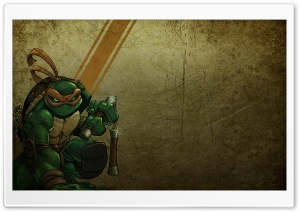 Michelangelo Teenage Mutant Ninja Turtles HD Wide Wallpaper for Widescreen