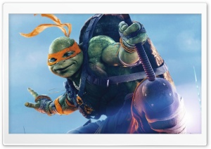 Michelangelo TMNT Out Of The Shadows HD Wide Wallpaper for Widescreen