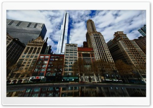 Michigan Avenue HD Wide Wallpaper for Widescreen