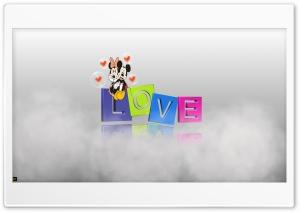 MICKEY MINNIE LOVE Ultra HD Wallpaper for 4K UHD Widescreen desktop, tablet & smartphone