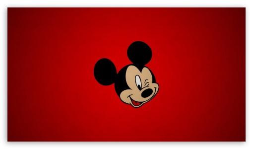 Mickey Mouse Head 4K HD Desktop Wallpaper for 4K Ultra HD TV