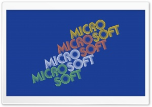 Microsoft HD Wide Wallpaper for Widescreen