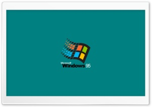 Microsoft Windows 95 Ultra HD Wallpaper for 4K UHD Widescreen desktop, tablet & smartphone
