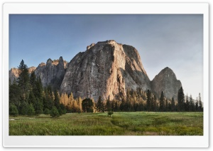 Middle Cathedral Rock, Yosemite Valley, California Ultra HD Wallpaper for 4K UHD Widescreen desktop, tablet & smartphone