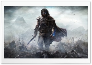 Middle-earth Shadow of Mordor HD Wide Wallpaper for 4K UHD Widescreen desktop & smartphone