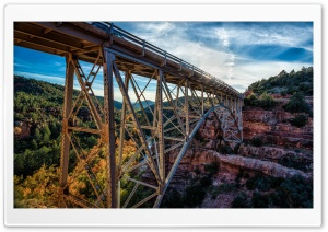 Midgley Bridge, Sedona, Arizona HD Wide Wallpaper for Widescreen