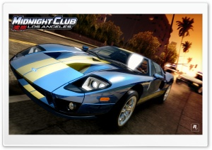 Midnight Club Los Angeles Ford GT HD Wide Wallpaper for 4K UHD Widescreen desktop & smartphone