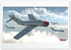 MiG-15bis HD Wide Wallpaper for Widescreen
