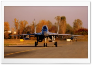 MIG-29 Taking Off HD Wide Wallpaper for Widescreen