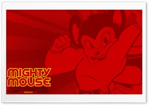 Mighty Mouse HD Wide Wallpaper for Widescreen