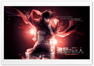 Mikasa Ackerman Ultra HD Wallpaper for 4K UHD Widescreen desktop, tablet & smartphone