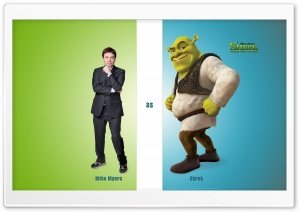 Mike Myers as Shrek, Shrek Forever After HD Wide Wallpaper for Widescreen