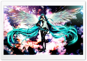 Miku HD Wide Wallpaper for 4K UHD Widescreen desktop & smartphone