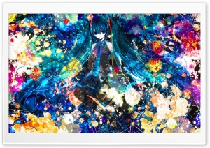 Miku HD Wide Wallpaper for Widescreen