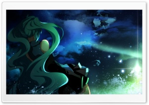 Miku Hatsune HD Wide Wallpaper for Widescreen