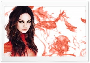 Mila Kunis HD Wide Wallpaper for Widescreen
