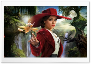 Mila Kunis as Theodora - Oz the Great and Powerful 2013 Movie HD Wide Wallpaper for Widescreen