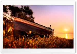 Milazzo Boat HD Wide Wallpaper for Widescreen