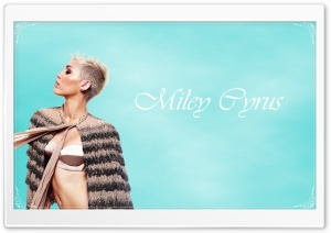 Miley Cyrus 1 Ultra HD Wallpaper for 4K UHD Widescreen desktop, tablet & smartphone