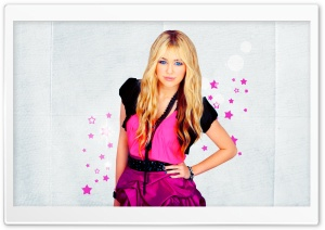 Miley Cyrus Blonde HD Wide Wallpaper for Widescreen