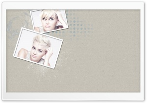 Miley Cyrus New Haircut HD Wide Wallpaper for Widescreen