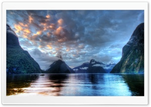 Milford Sound HD Wide Wallpaper for Widescreen