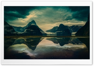 Milford Sound Morning HD Wide Wallpaper for Widescreen