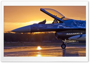 Military Aircraft, Sunrise HD Wide Wallpaper for Widescreen
