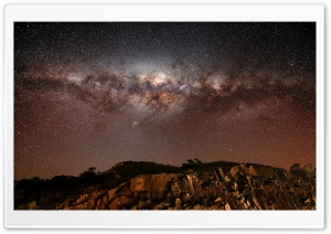 Milky Way HD Wide Wallpaper for 4K UHD Widescreen desktop & smartphone