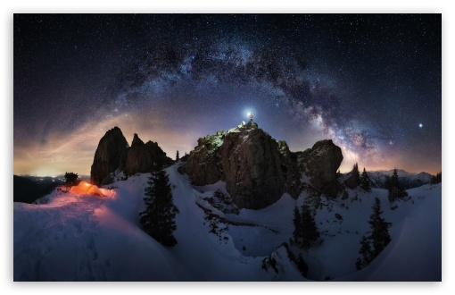 milky way night sky astrophotography wallpapers