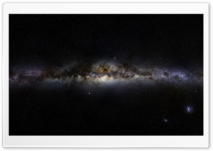 Milky Way Space View HD Wide Wallpaper for Widescreen
