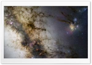 Milky Way Starscape HD Wide Wallpaper for Widescreen