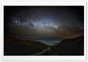 Milky Way, Wellington HD Wide Wallpaper for 4K UHD Widescreen desktop & smartphone