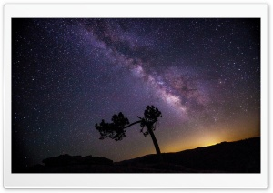 Milkyway in Night Sky HD Wide Wallpaper for 4K UHD Widescreen desktop & smartphone