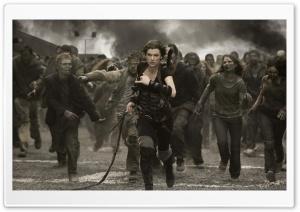 Milla Jovovich HD Wide Wallpaper for 4K UHD Widescreen desktop & smartphone