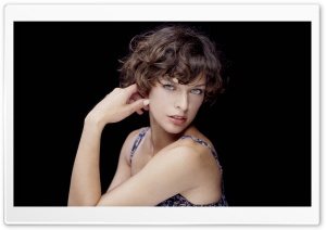 Milla Jovovich 12 HD Wide Wallpaper for Widescreen