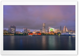 Minato Mirai 21 Ultra HD Wallpaper for 4K UHD Widescreen desktop, tablet & smartphone