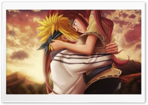 Minato Namikaze And Kushina Uzumaki HD Wide Wallpaper for Widescreen