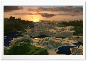 Minecraft HD Wide Wallpaper for 4K UHD Widescreen desktop & smartphone