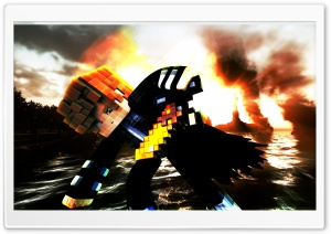 Minecraft HD Wide Wallpaper for Widescreen