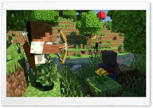 Minecraft Ultra HD Wallpaper for 4K UHD Widescreen desktop, tablet & smartphone