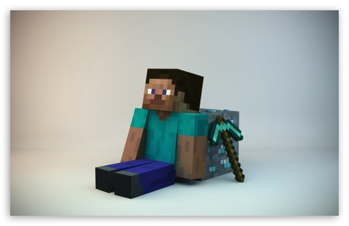 Minecraft Guy 4k Hd Desktop Wallpaper For 4k Ultra Hd Tv