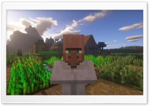 Minecraft Villager Ultra HD Wallpaper for 4K UHD Widescreen desktop, tablet & smartphone